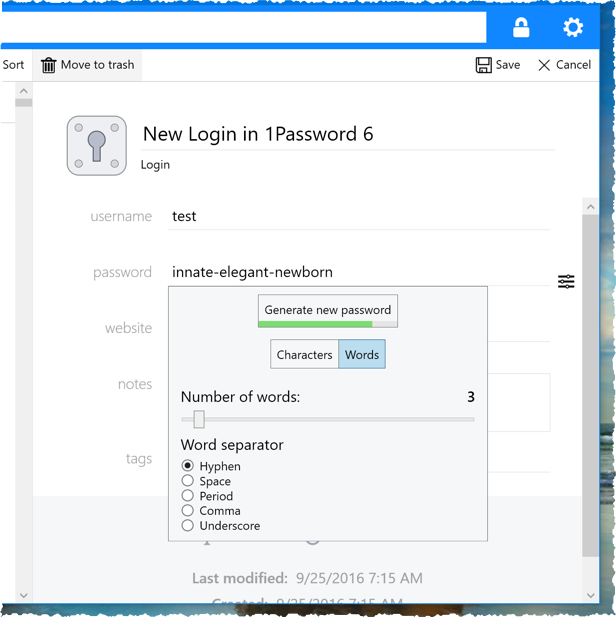 1Password 6 vs 1Password 4 for Windows and the use of